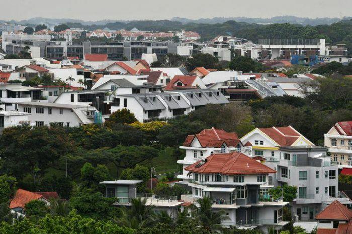 Giới siêu giàu châu Á đổ xô mua bất động sản Singapore