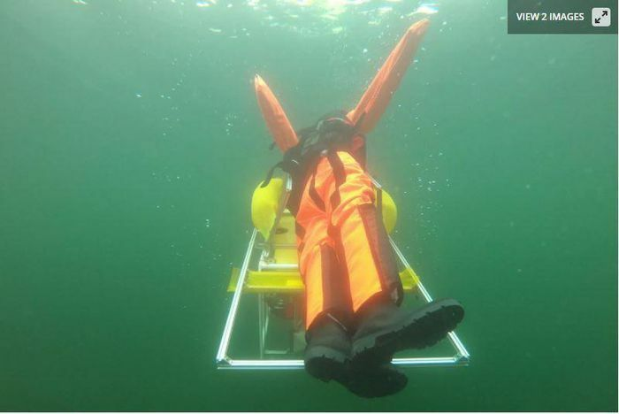 Robot cứu hộ, có khả năng cứu người đuối nước một cách nhanh chóng