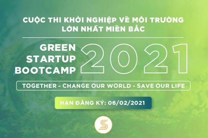 5 đội xuất sắc lọt vào Chung kết cuộc thi Green Startup Bootcamp 2021