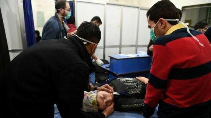 Nga cảnh báo về âm mưu tấn công hóa học tại Syria của lực lượng khủng bố
