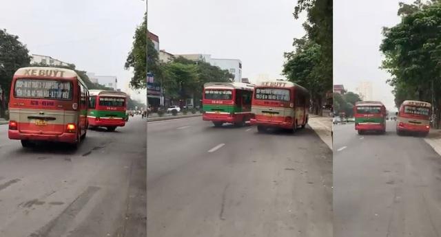 Vụ 2 xe buýt tạt đầu, chèn nhau trên phố: Buộc thôi việc 2 tài xế