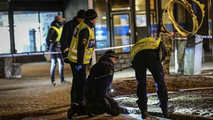 Thụy Điển điều tra vụ tấn công bằng dao làm thương 8 người ở Vetlanda