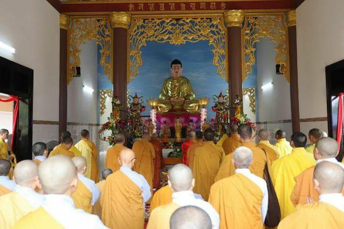 Phú Yên: Lễ tạ Tam bảo chùa Phú Sơn
