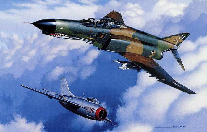 Phi công 300 giờ bay của Việt Nam hạ gục chuyên gia diệt MiG