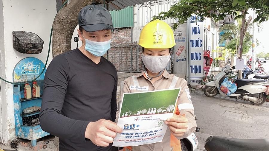 PC Quảng Ninh: Tiếp tục hưởng ứng Giờ Trái đất