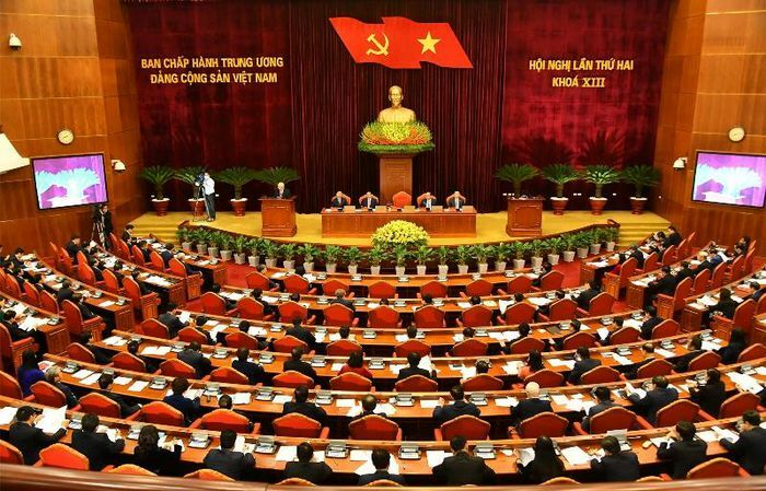 Khai mạc Hội nghị lần thứ hai Ban Chấp hành T.Ư Đảng khóa XIII