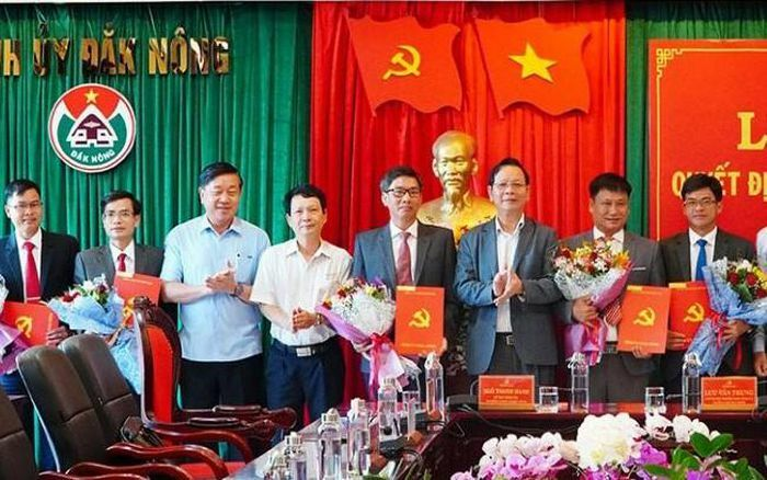 Bổ nhiệm nhân sự mới tại tỉnh Đắk Nông
