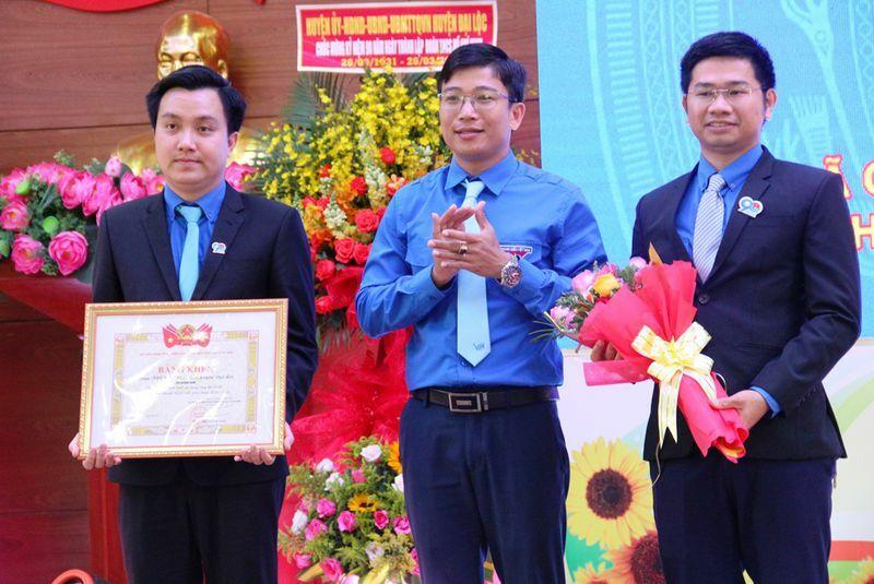 Tuổi trẻ Huyện đoàn Đại Lộc nhận bằng khen của T.Ư Đoàn