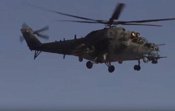 Máy bay trực thăng quân sự Nga rơi ở Syria