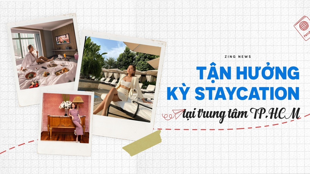 Tận hưởng kỳ staycation tại khách sạn trung tâm TP.HCM
