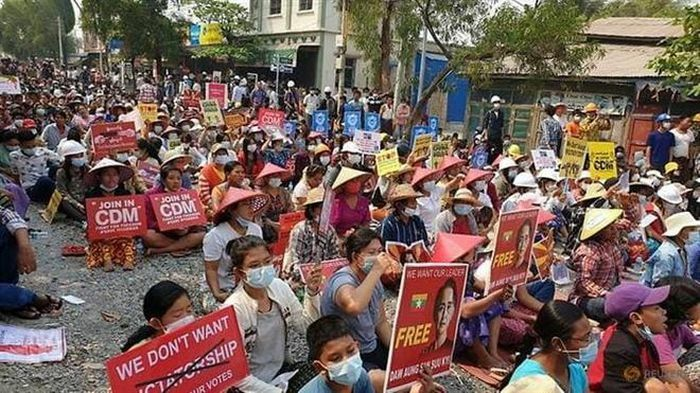Thêm 6 người biểu tình Myanmar thiệt mạng ngày 11/3