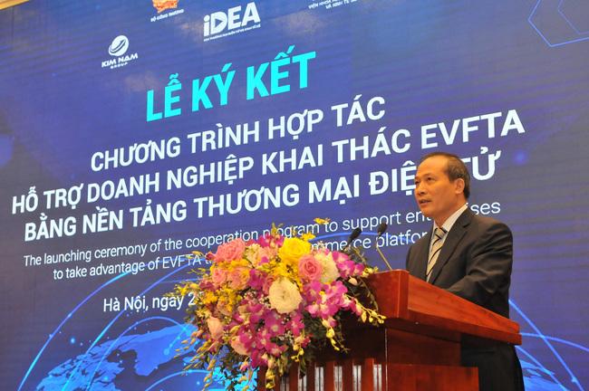 Đẩy mạnh hỗ trợ doanh nghiệp khai thác EVFTA từ thương mại điện tử
