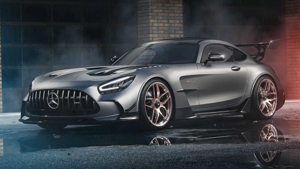 Bản độ Mercedes-AMG GT Black Series đầu tiên trên thế giới