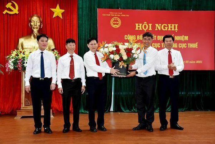 Bà Rịa – Vũng Tàu: Công bố quyết định bổ nhiệm lãnh đạo Cục Thuế tỉnh