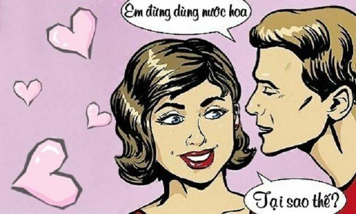 Tức ứa máu khi được chồng khen thơm