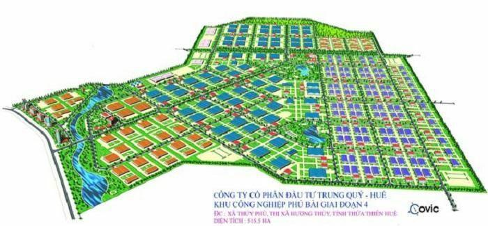 Thừa Thiên Huế sẽ có thêm khu công nghiệp hơn 2.600 tỷ đồng