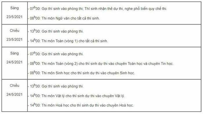 """Thông tin tuyển sinh lớp 10 các trường chuyên có """"tỷ lệ chọi"""" cao ngất ngưởng tại Hà Nội"""