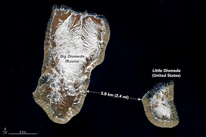 """""""Du hành ngược thời gian"""" nơi hai hòn đảo cách nhau chưa đầy 4 km"""