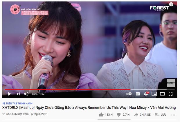"""Văn Mai Hương gọi điện rủ quay MV chung nhưng Hòa Minzy liền từ chối: """"Hát với chị em bị sợ"""""""
