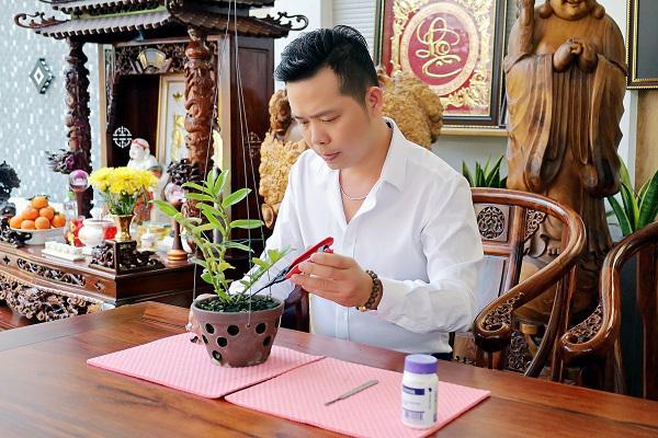 Trương Tấn Lợi – ông chủ 8X mở vườn lan từ đam mê