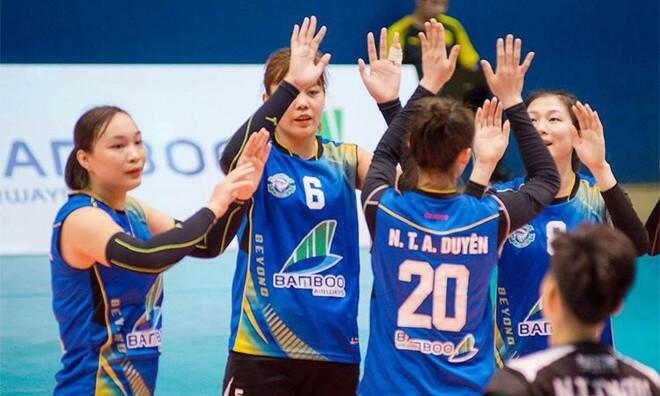 Bóng chuyền nữ Bamboo Airways Vĩnh Phúc đặt mục tiêu hướng tới Giải Vô địch quốc gia