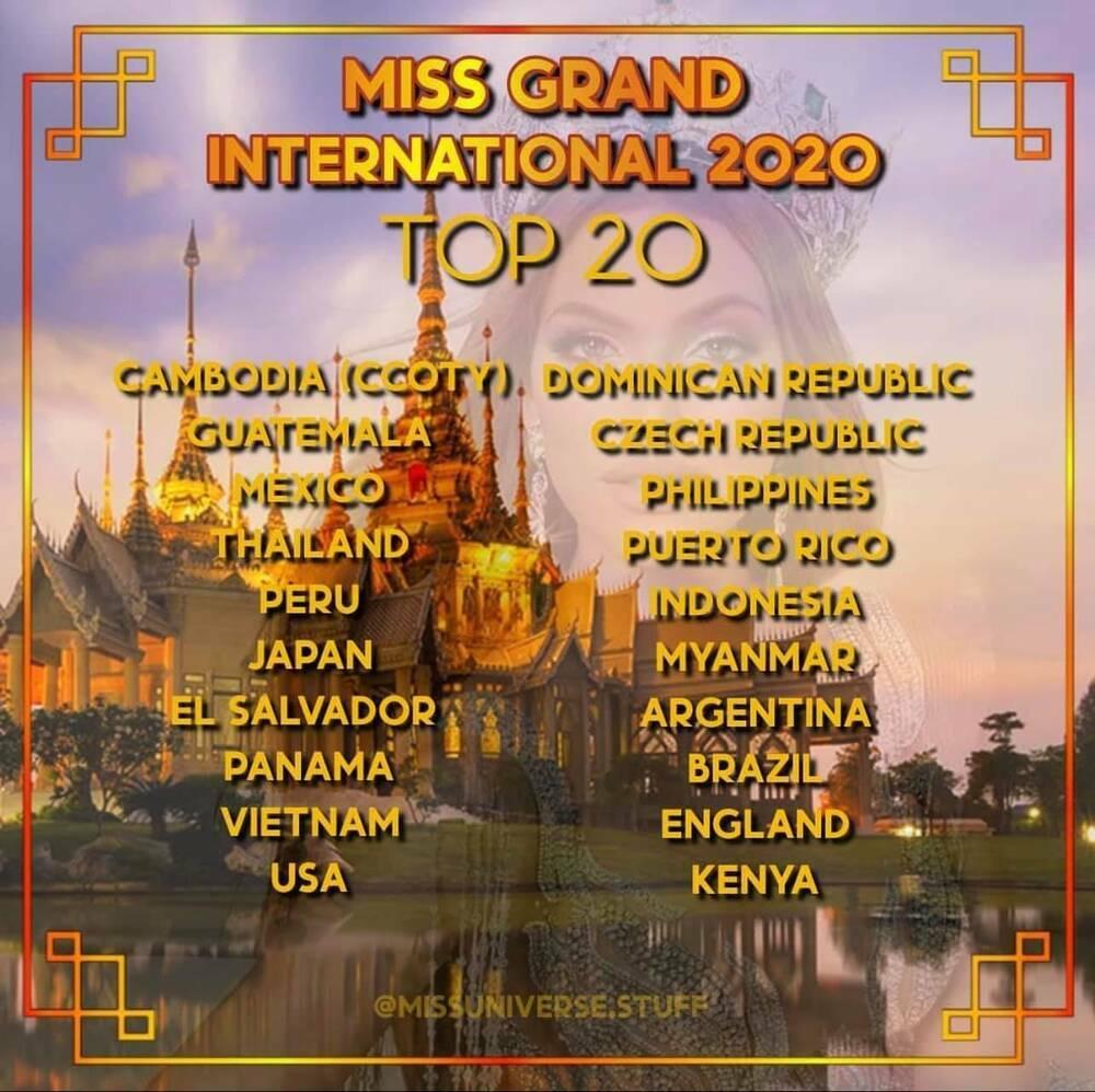 Chung kết Miss Grand: Ngọc Thảo xuất sắc được gọi tên vào Top 20, tràn trề cơ hội chạm tay tới vương miện