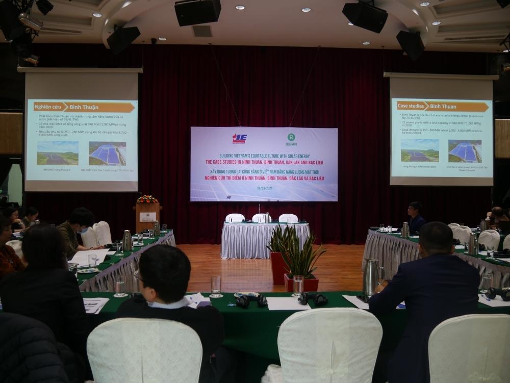 Xây dựng tương lai công bằng ở Việt Nam bằng năng lượng mặt trời