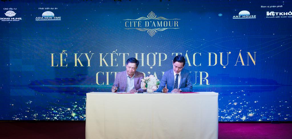 Asia New Time phân phối độc quyền khu nhà phố Cite' D'amour ở Dĩ An