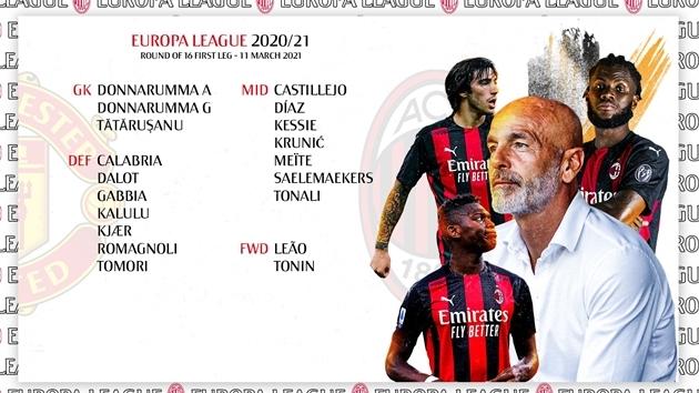 """XONG! AC Milan """"tan hoang"""" trước đại chiến với Man Utd"""