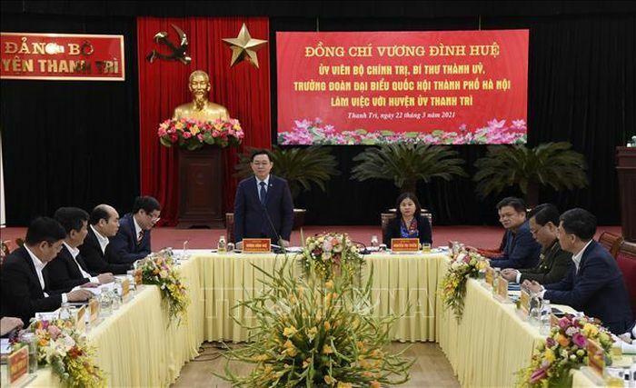 Phấn đấu đưa huyện Thanh Trì lên quận vào năm 2023