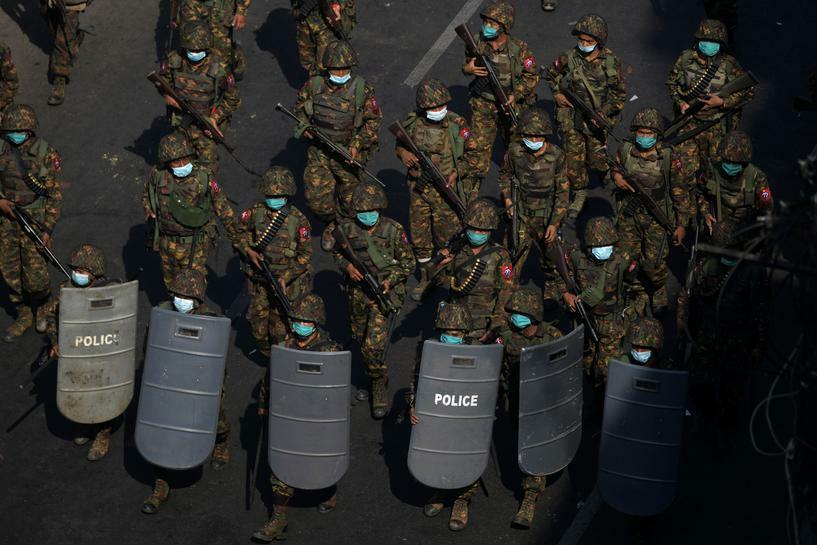 Quốc gia châu Á đầu tiên tuyên bố dừng mọi quan hệ với quân đội Myanmar