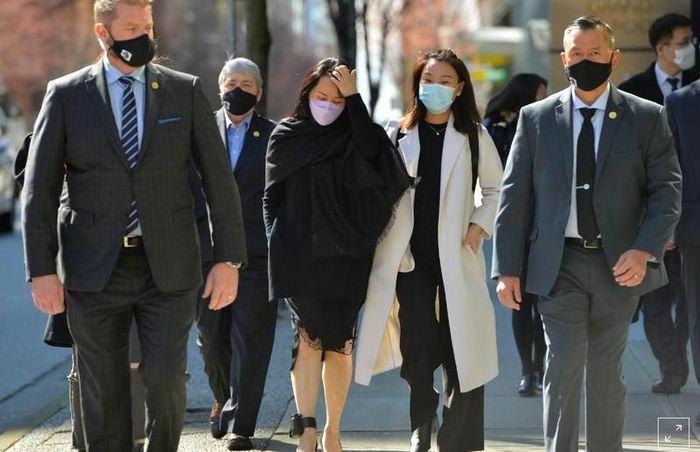 """Luật sư của """"Công chúa Huawei"""" chỉ trách việc cảnh sát Canada không lưu giữ email của nhân chứng quan trọng"""