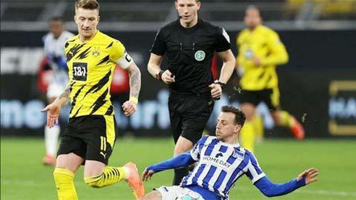 Cầu thủ Dortmund chấn thương cả loạt sau chiến thắng Hertha Berlin