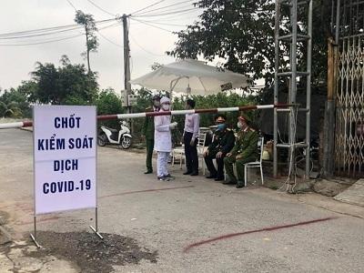 Hải Dương: Nhiều xã, phường ở thị xã Kinh Môn tái thiết lập cách ly xã hội