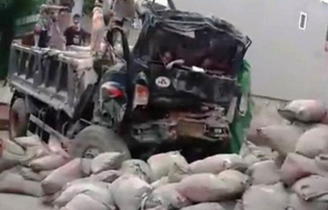Ninh Bình: Tai nạn giao thông nghiêm trọng, 2 người thương vong