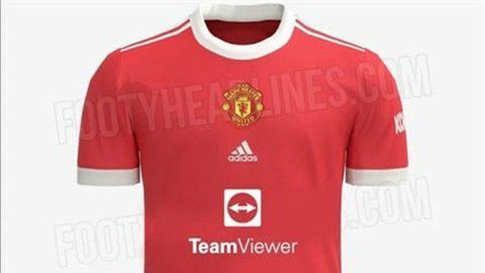 Man United lộ áo đấu sân nhà mùa 2021/22