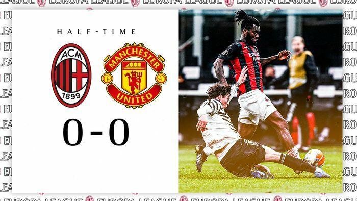 AC Milan 0-0 MU: Đôi công hấp dẫn (H2)