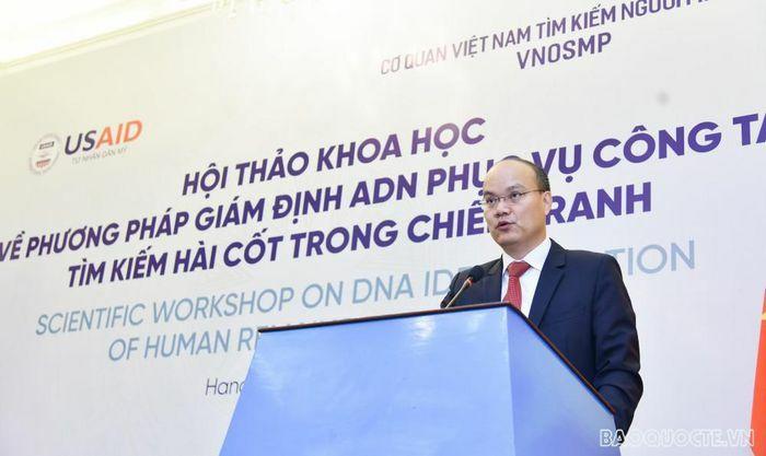Việt Nam và Hoa Kỳ chia sẻ phương pháp giám định ADN phục vụ công tác tìm kiếm hài cốt trong chiến tranh
