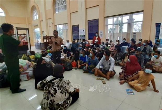 Phát hiện 61 người nhập cảnh trái phép ở biên giới An Giang