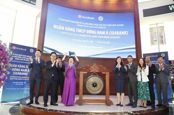 Hơn 1,2 tỷ cổ phiếu SeABank chính thức niêm yết trên sàn chứng khoán