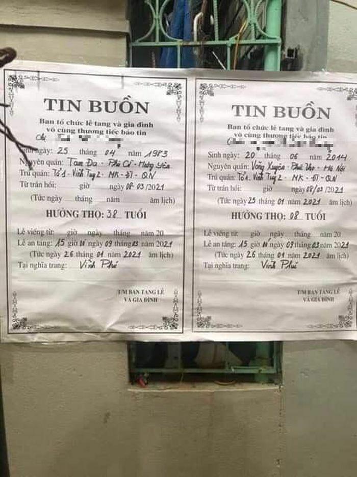 Hà Nội: Chồng sát hại vợ và con gái 7 tuổi trong phòng trọ