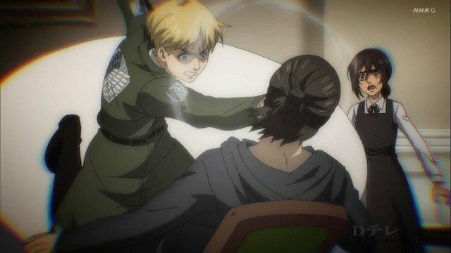 Attack On Titan season 4 tập 17 sẽ chứng kiến trận đánh kinh điển giữa Eren với Reiner