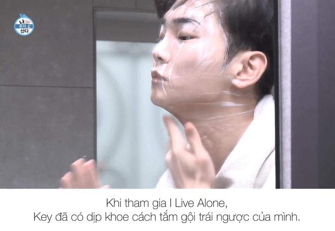 """Tại Key (SHINee) mà fan phát """"lú"""", tranh cãi vì câu hỏi… nên gội đầu trước hay nên rửa mặt trước"""