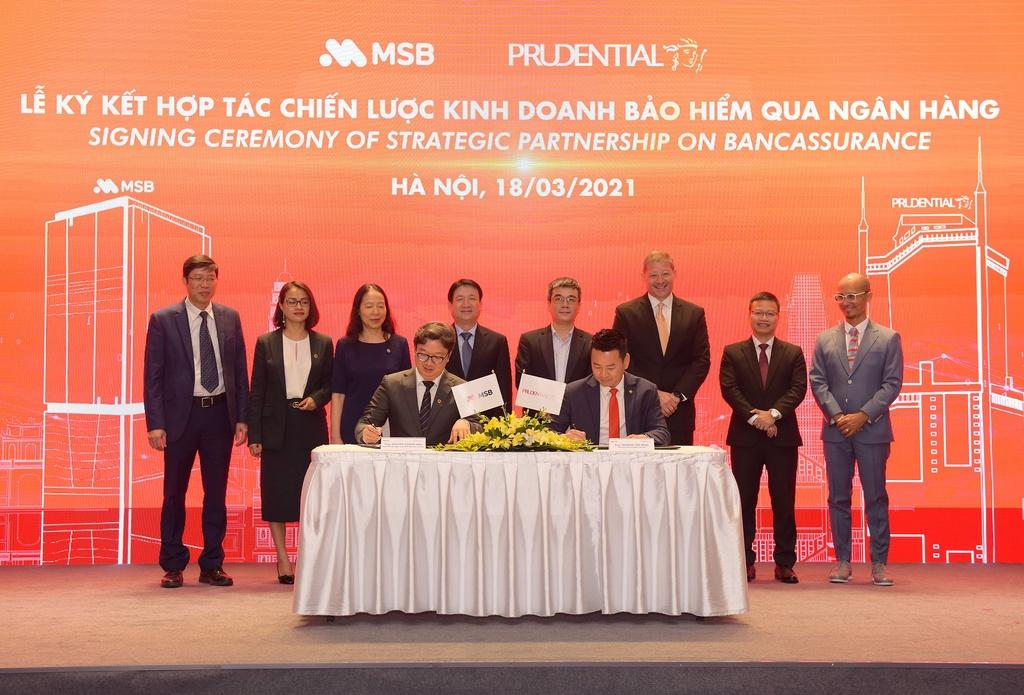 Prudential Việt Nam và MSB mở rộng hợp tác trong 15 năm