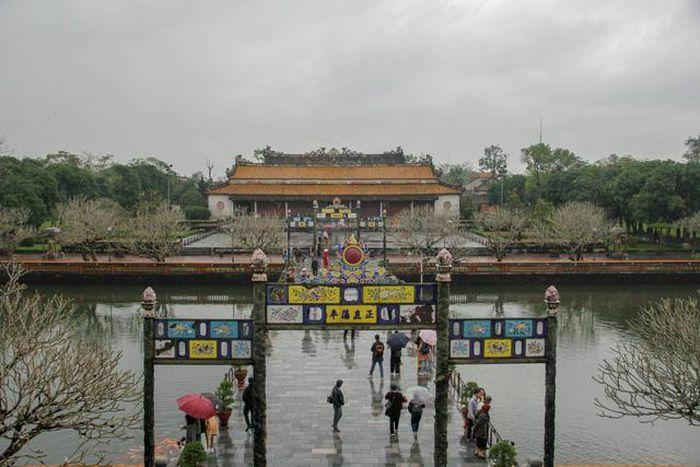 """Hiện trạng điện Thái Hòa trước thời điểm """"đại trùng tu"""""""