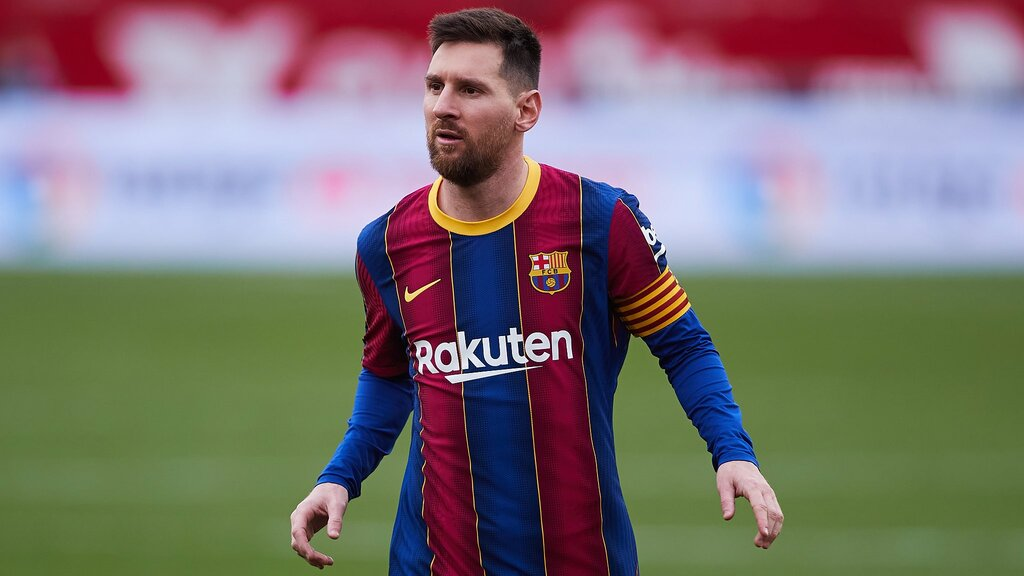 Messi lần đầu giật giải cầu thủ hay nhất tháng sau 1 năm