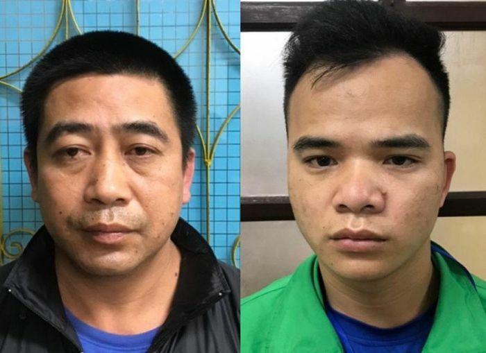 Bắt quả tang 2 ô tô chở 9 người Trung Quốc nhập cảnh trái phép