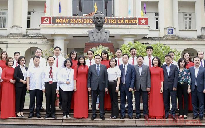 Tập trung xây dựng thương hiệu Trường Đào tạo cán bộ Lê Hồng Phong