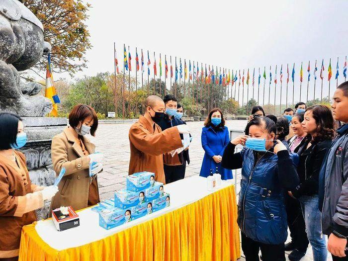 Thực hiện nghiêm biện pháp phòng, chống dịch COVID-19 tại các chùa, cơ sở tự viện