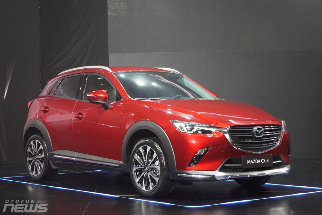 Chi tiết Mazda CX-3 mới ra mắt giá cao nhất 709 triệu đồng
